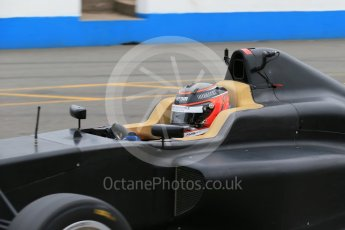 World © Octane Photographic Ltd. 15th October 2015. Donington Park. General Testing. Ameya Vaidyanathan. Digital Ref: 1455LB1D7426