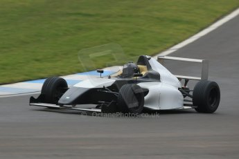 World © Octane Photographic Ltd. Friday 13th February 2015, General un-silenced test day – Donington Park, MSA Formula – Certified by FIA powered by Ford EcoBoost, MyGale F4 – Ameya Vaidyanathan. Digital Ref :