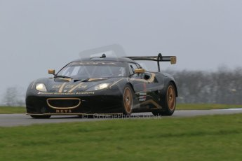 World © Octane Photographic Ltd. Friday 13th February 2015, General un-silenced test day – Donington Park - Staffordshire University – National Motorsport Academy – Lotus Evora. Digital Ref :