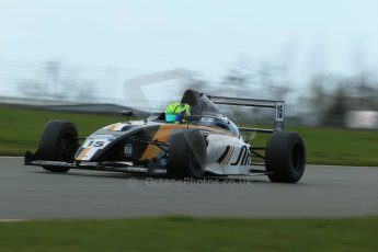 World © Octane Photographic Ltd. Wednesday 4th March 2015, General un-silenced test day – Donington Park - MSA Formula – Certified by FIA, Powered by Ford EcoBoost - James Pull - JTR. . Digital Ref : 1196CB1D4329