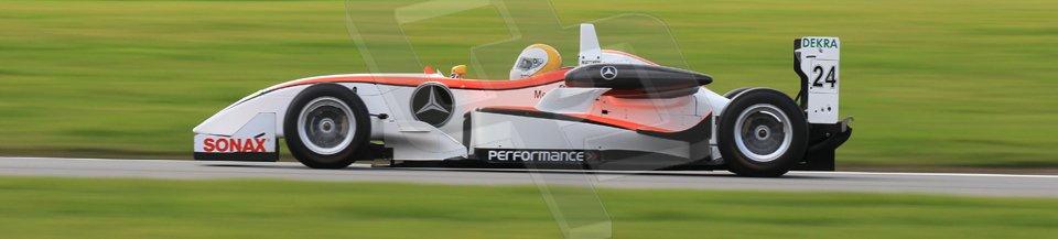 World © Octane Photographic Ltd. Wednesday 4th March 2015, General un-silenced test day – Donington Park - Matthew Payne - Dallara F307 Mercedes HWA- MSVR F3Cup. Digital Ref : 1196CB1L5089