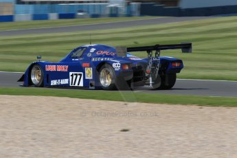 World © Octane Photographic Ltd. Donington Park general unsilenced testing June 4th 2015. Frank Lyons - Historic Group C - ALD C289 (ex-Yves Hervalet/Alain Serpaggi/Louis Descartes - Le Mans 1989). Digital Ref :