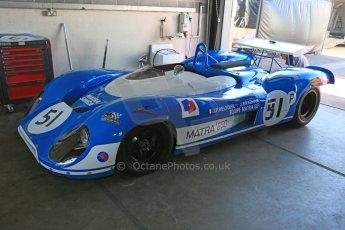 World © Octane Photographic Ltd. Donington Park general unsilenced testing June 4th 2015. Matra MS650 Ex Jean-Pierre Beltoise and Jack Brabham. Digital Ref :