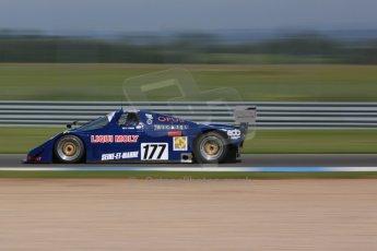 World © Octane Photographic Ltd. Donington Park general unsilenced testing June 4th 2015. Frank Lyons - Historic Group C - ALD C289 (ex-Yves Hervalet/Alain Serpaggi/Louis Descartes - Le Mans 1989). Digital Ref :
