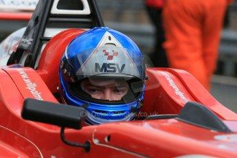 World © Octane Photographic Ltd. DUO BRDC Formula 4 Qualifying, Oulton Park, UK, Saturday 4th April 2015. MSV F4-013. HHC Motorsport. Will Palmer. Digital Ref : 1213LB1D2589