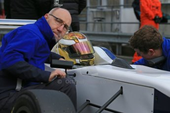 World © Octane Photographic Ltd. DUO BRDC Formula 4 Qualifying, Oulton Park, UK, Saturday 4th April 2015. MSV F4-013. HHC Motorsport. Sisa Ngebulana. Digital Ref : 1213LB1D2593