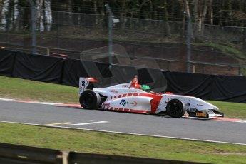 World © Octane Photographic Ltd. DUO BRDC Formula 4 Qualifying, Oulton Park, UK, Saturday 4th April 2015. MSV F4-013. Lanan Racing. Jack Bartholomew. Digital Ref : 1213LB1D2675
