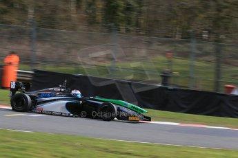 World © Octane Photographic Ltd. DUO BRDC Formula 4 Qualifying, Oulton Park, UK, Saturday 4th April 2015. MSV F4-013. SWR – Sean Walkinshaw Racing. Zubair Hoque. Digital Ref : 1213LB1D2721
