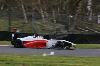 World © Octane Photographic Ltd. DUO BRDC Formula 4 Qualifying, Oulton Park, UK, Saturday 4th April 2015. MSV F4-013. Mark Godwin Racing (MGR). Hernan Fallas Digital Ref : 1213LB1D2749
