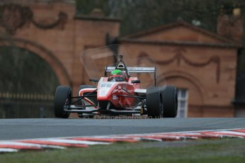 World © Octane Photographic Ltd. DUO BRDC Formula 4 Race 1, Oulton Park, UK, Saturday 4th April 2015. MSV F4-013. Hillspeed. Sebastian Lanzetti. Digital Ref : 1214LB1D3429