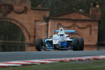 World © Octane Photographic Ltd. DUO BRDC Formula 4 Race 1, Oulton Park, UK, Saturday 4th April 2015. MSV F4-013. Douglas Motorsport. Akhil Rabindra. Digital Ref : 1214LB1D3535