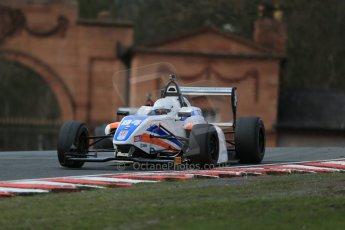 World © Octane Photographic Ltd. DUO BRDC Formula 4 Race 1, Oulton Park, UK, Saturday 4th April 2015. MSV F4-013. Mark Godwin Racing (MGR). Michael O'Brien Digital Ref : 1214LB1D3545