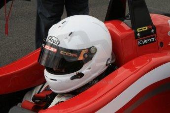 World © Octane Photographic Ltd. Saturday 25th April 2015, MSVR F3 Cup Qualifying. Donington Park. Chris Dittmann Racing (CDR) – Kieran Vernon – Dallara F307 Mercedes HWA. Digital Ref: 1234CB7B1660