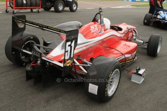 World © Octane Photographic Ltd. Saturday 25th April 2015, MSVR F3 Cup Qualifying. Donington Park. Chris Dittmann Racing (CDR) – Kieran Vernon – Dallara F307 Mercedes HWA. Digital Ref: 1234CB7B1683