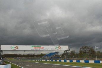 World © Octane Photographic Ltd. Saturday 25th April 2015, MSVR F3 Cup Qualifying. Donington Park. Storm clouds gather. Digital Ref: 1234CB7B1721