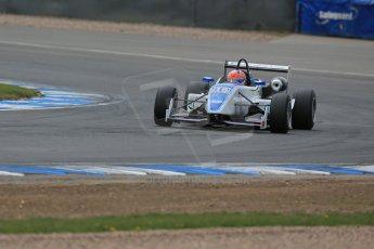 World © Octane Photographic Ltd. Saturday 25th April 2015, MSVR F3 Cup Qualifying. Donington Park. Grays Motorsport – Aaron Steele – Dallara F307 Mugen Honda. Digital Ref: 1234LB1D3930
