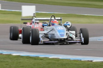 World © Octane Photographic Ltd. Saturday 25th April 2015, MSVR F3 Cup Race 1. Donington Park. Chris Dittmann Racing (CDR) – Kieran Vernon – Dallara F307 Mercedes HWA. Digital Ref: 1235CB7L7313