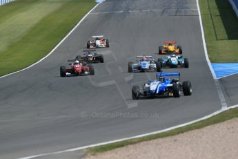 World © Octane Photographic Ltd. Saturday 25th April 2015, MSVR F3 Cup Race 1. Donington Park. Chris Dittmann Racing (CDR) – Stuart Wiltshire – Dallara F306 Mercedes HWA. Digital Ref: 1235LB1D4135