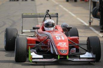 World © Octane Photographic Ltd. Saturday 25th April 2015, MSVR F3 Cup Race 1. Donington Park. Chris Dittmann Racing (CDR) – Kieran Vernon – Dallara F307 Mercedes HWA. Digital Ref: 1235LW1L4638
