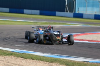 World © Octane Photographic Ltd. Sunday 26th April 2015, MSVR F3 Cup Race 3. Donington Park. CF Racing - Daniel Tapinos – Dallara F311 NBE. Digital Ref: 1237LB1D4666