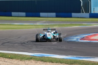 World © Octane Photographic Ltd. Sunday 26th April 2015, MSVR F3 Cup Race 3. Donington Park. Chris Dittmann Racing (CDR) – Stuart Wiltshire – Dallara F306 Mercedes HWA. Digital Ref: 1237LB1D4673
