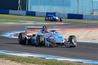 World © Octane Photographic Ltd. Sunday 26th April 2015, MSVR F3 Cup Race 3. Donington Park. Grays Motorsport – Aaron Steele – Dallara F307 Mugen Honda. Digital Ref: 1237LB1D4791
