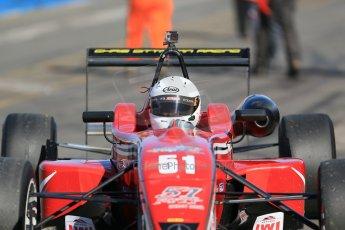 World © Octane Photographic Ltd. Sunday 26th April 2015, MSVR F3 Cup Race 3. Donington Park. Chris Dittmann Racing (CDR) – Kieran Vernon – Dallara F307 Mercedes HWA. Digital Ref: 1237LB1D4808
