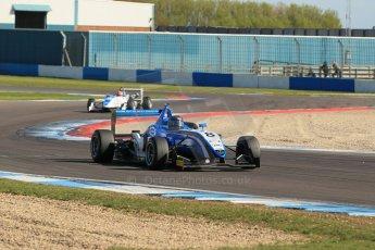 World © Octane Photographic Ltd. Sunday 26th April 2015, MSVR F3 Cup Race 3. Donington Park. Chris Dittmann Racing (CDR) – Stuart Wiltshire – Dallara F306 Mercedes HWA. Digital Ref: 1237LW1L4840