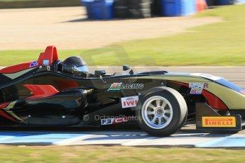 World © Octane Photographic Ltd. Sunday 26th April 2015, MSVR F3 Cup Race 3. Donington Park. CF Racing - Daniel Tapinos – Dallara F311 NBE. Digital Ref: 1237LW1L4853