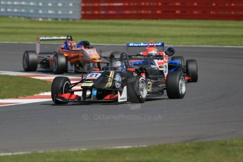 World © Octane Photographic Ltd. FIA European F3 Championship, Silverstone Race 2, UK, Saturday 11th April 2015. Signature – Alexander Albon, Dallara F312 – Volkswagen, Fortec Motorsports – Pietro Fittipaldi, Dallara F312 – Mercedes-Benz and kfzteile24 Mucke Motorsport – Mikkel Jensen, Dallara F312 – Mercedes-Benz. Digital Ref : 1223LB1D8132