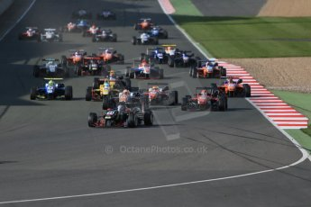 World © Octane Photographic Ltd. FIA European F3 Championship, Silverstone Race 3, UK, Sunday 12th April 2015. Signature – Alexander Albon, Dallara F312 – Volkswagen. Digital Ref : 1224LB1D8311