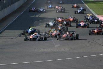 World © Octane Photographic Ltd. FIA European F3 Championship, Silverstone Race 3, UK, Sunday 12th April 2015. Motopark – Marcus Pommer, Dallara F312 – Volkswagen. Digital Ref : 1224LB1D8317