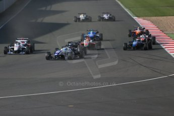 World © Octane Photographic Ltd. FIA European F3 Championship, Silverstone Race 3, UK, Sunday 12th April 2015. Motopark – Sergio Sette Camara, Dallara F312 – Volkswagen. Digital Ref : 1224LB1D8328