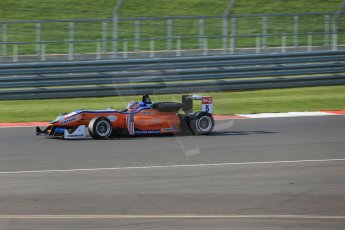 World © Octane Photographic Ltd. FIA European F3 Championship, Silverstone Race 3, UK, Sunday 12th April 2015. kfzteile24 Mucke Motorsport – Santino Ferrucci, Dallara F312 – Mercedes-Benz. Digital Ref : 1224LB1D8357
