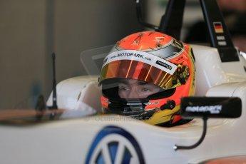 World © Octane Photographic Ltd. FIA European F3 Championship, Silverstone test day, UK, Tuesday 7th April 2015. Motopark – Marcus Pommer, Dallara F312 – Volkswagen. Digital Ref : 1216LB1D3787