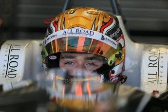 World © Octane Photographic Ltd. FIA European F3 Championship, Silverstone test day, UK, Tuesday 7th April 2015. Van Amersfoort Racing – Charles Leclerc, Dallara F312 – Volkswagen. Digital Ref : 1216LB1D4311