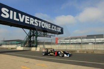 World © Octane Photographic Ltd. FIA European F3 Championship, Silverstone test day, UK, Tuesday 7th April 2015. Signature – Alexander Albon, Dallara F312 – Volkswagen. Digital Ref : 1216LW1L8424