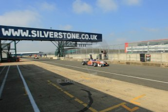 World © Octane Photographic Ltd. FIA European F3 Championship, Silverstone test day, UK, Tuesday 7th April 2015. kfzteile24 Mucke Motorsport – Santino Ferrucci, Dallara F312 – Mercedes-Benz. Digital Ref : 1216LW1L8505
