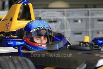 World © Octane Photographic Ltd. FIA Formula E testing – Donington Park 10th August 2015, Renault Z.E.15. Renault e.Dams – Nicolas Prost. Digital Ref : 1366LB1D4279