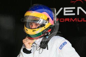 World © Octane Photographic Ltd. FIA Formula E testing – Donington Park 10th August 2015, Venturi VM200-FE-01. Venturi – Jacques Villeneuve. Digital Ref : 1366LB1D4392
