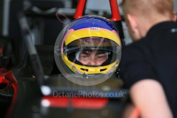 World © Octane Photographic Ltd. FIA Formula E testing – Donington Park 10th August 2015, Venturi VM200-FE-01. Venturi – Jacques Villeneuve. Digital Ref : 1366LB1D4460