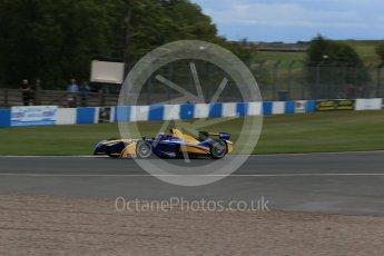 World © Octane Photographic Ltd. FIA Formula E testing – Donington Park 10th August 2015, Renault Z.E.15. Renault e.Dams – Nicolas Prost. Digital Ref : 1366LB1D4520