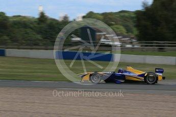 World © Octane Photographic Ltd. FIA Formula E testing – Donington Park 10th August 2015, Renault Z.E.15. Renault e.Dams – Nicolas Prost. Digital Ref : 1366LB1D4528