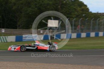 World © Octane Photographic Ltd. FIA Formula E testing – Donington Park 10th August 2015, Mahindra M2ELECTRO. Mahindra – Bruno Senna. Digital Ref : 1366LB1D4563