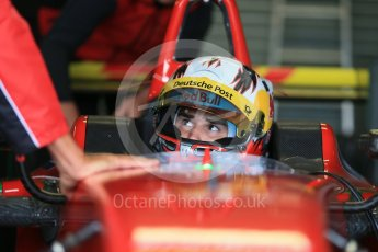 World © Octane Photographic Ltd. FIA Formula E testing – Donington Park 11th August 2015, ABT Shaeffler FE01. ABT Shaeffler Audi Sport – Daniel Abt. Digital Ref : 1367LB1D4655