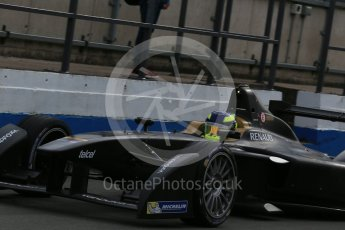World © Octane Photographic Ltd. FIA Formula E testing – Donington Park 11th August 2015, SRT01-e. Team Aguri – Tom Dillmann. Digital Ref : 1367LB1D4726