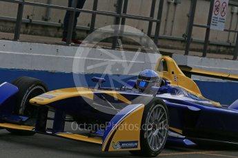 World © Octane Photographic Ltd. FIA Formula E testing – Donington Park 11th August 2015, Renault Z.E.15. Renault e.Dams – Nicolas Prost. Digital Ref : 1367LB1D4732