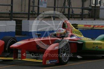 World © Octane Photographic Ltd. FIA Formula E testing – Donington Park 11th August 2015, ABT Shaeffler FE01. ABT Shaeffler Audi Sport – Daniel Abt. Digital Ref : 1367LB1D4738