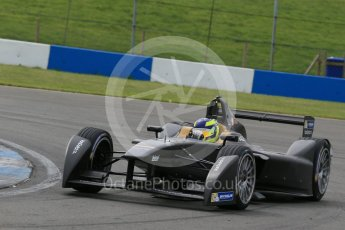 World © Octane Photographic Ltd. FIA Formula E testing – Donington Park 11th August 2015, SRT01-e. Team Aguri – Tom Dillmann. Digital Ref : 1367LB1D4907