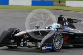 World © Octane Photographic Ltd. FIA Formula E testing – Donington Park 11th August 2015, Virgin DSV-01. DS Virgin Racing – Sam Bird. Digital Ref : 1367LB1D4996
